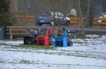 Kurzweil im Schnee